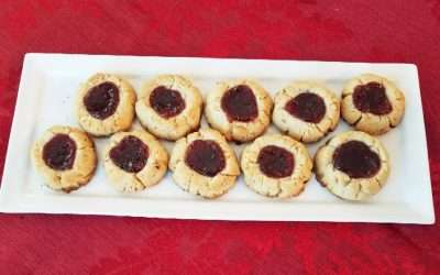 Hazelnut Thumbprint Cookies (Husaren-Krapferln)
