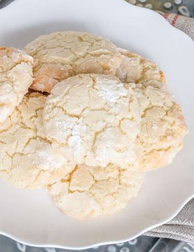 Lemon Cookies in 15 Minutes