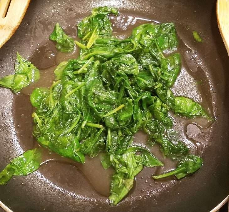 Sautee'd Spinach My Way