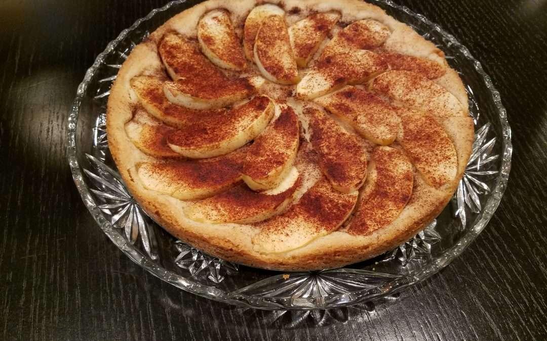 German Style Apple Cake (Apfelkuchen)