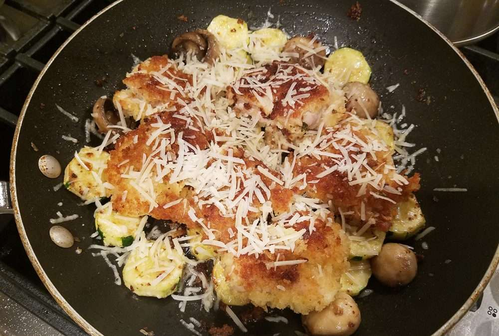 Chicken Thighs with Zucchini, Italian style