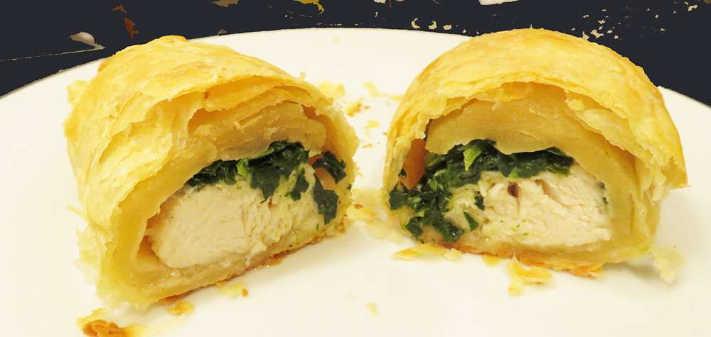 Chicken Tenders in Puff Pastry