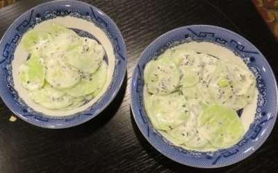 Cool & Creamy Cucumber Salad