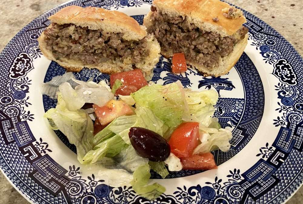 Italian Sausage Stuffed French Bread
