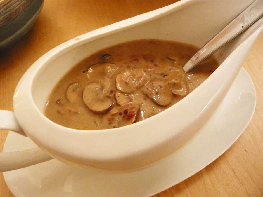 Quarantine Mushroom Gravy